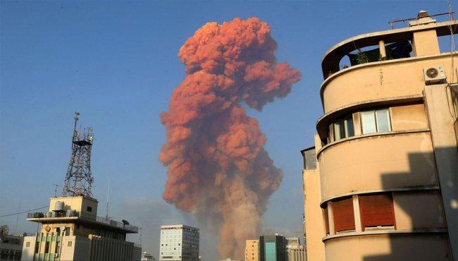 'Blast' letsel in Beiroet
