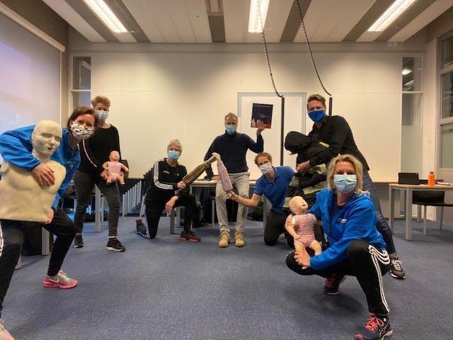 EHBO docententeam Friesland College, CIOS Heerenveen / Leeuwarden flink uitgebreid!
