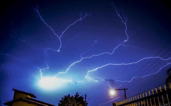 Schering en inslag. Wat moet je als  EHV'er met onweer?
