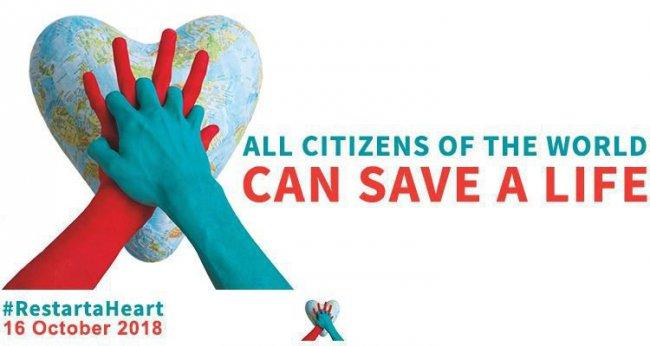 16 Oktober Internationale Reanimatie dag
